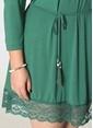 Bonprix Plus Elbise Yeşil